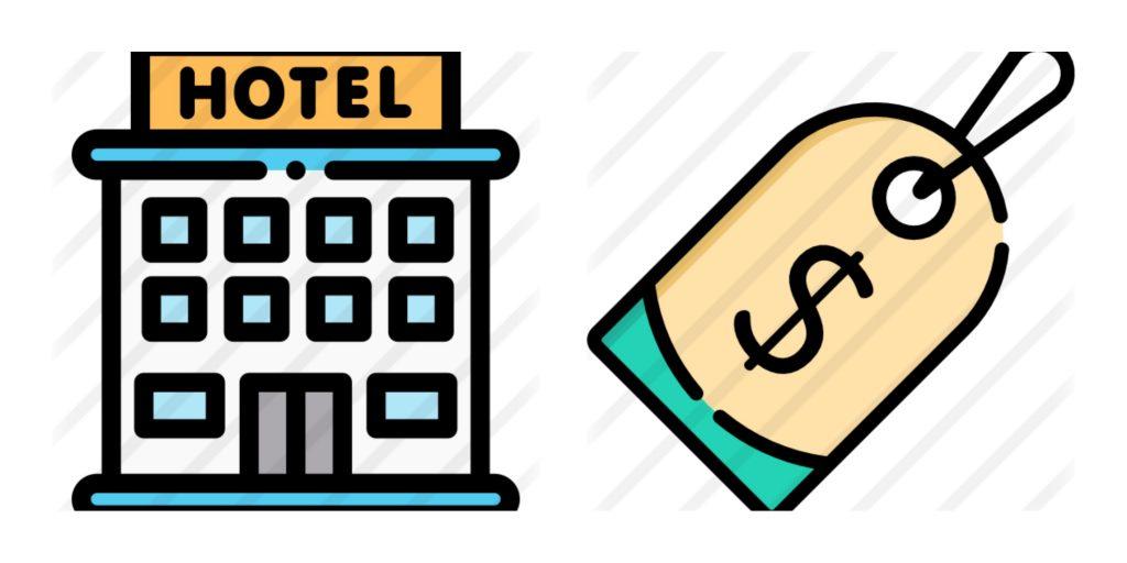 Información sobre hoteles y precios.